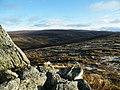 Allt Bruachaig from Carn a' Choire Mhòir's Northern Cairn - geograph.org.uk - 1061374.jpg
