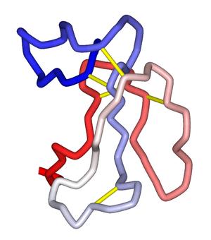 Alpha-Bungarotoxin - Image: Alpha Bungarotoxin 1IDI