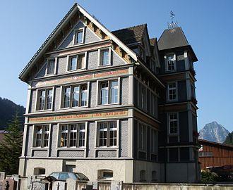 Alpthal - Building in Alpthal
