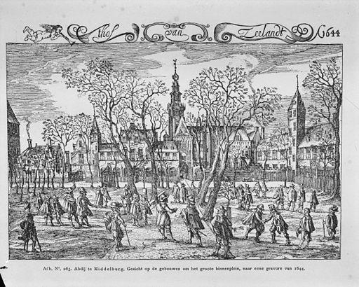 Als Hof van Zeeland in 1644 - Middelburg - 20154505 - RCE