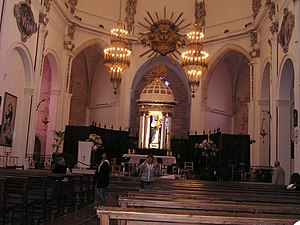 Roman Catholic Diocese of Ibiza - View of the altar of the Cathedral