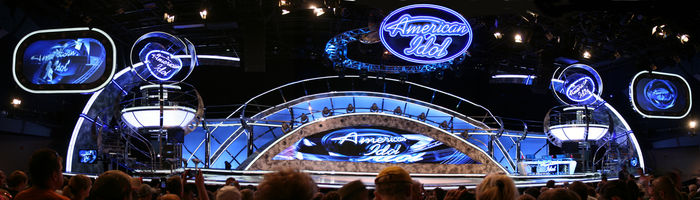 American Idol Experience stage