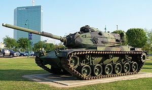 M60 Patton - Image: American M60A3 tank Lake Charles, Louisiana April 2005