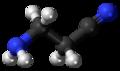 Aminopropionitrile 3D ball.png