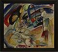 Amsterdam - Stedelijk Museum - Wassily Kandinsky (Василий Васильевич Кандинский) (1866-1944) - Improvisation 33 (Orient I) (A 4739) 1913.jpg
