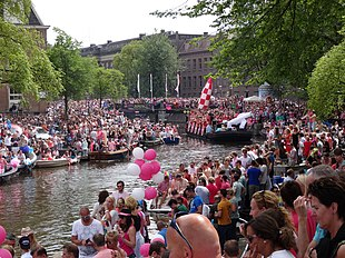 Amsterdam Pride is a citywide gay festival and attracts several hundredthousand visitors each year a