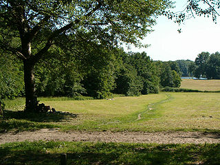 Amsterdamse Bos Park in the Netherlands