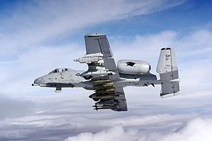 Aircraft in fiction - A-10 Thunderbolt II