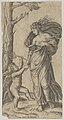 An allegory of Peace; Peace personified as a woman standing in a landscape holding the left hand of a winged genius MET DP854374.jpg