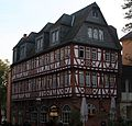 An old half timbered house in Romerberg in Frankfurt.jpg
