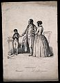 An opiniated child ignores his parents; representing the fac Wellcome V0009474.jpg