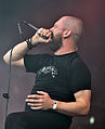 "Anaal Nathrakh, Dave ""V.I.T.R.I.O.L."" Hunt at Party.San Metal Open Air 2013 08.jpg"
