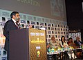 "Anand Sharma delivering the inaugural address, at the inauguration of ""FRAMES-2009"", in Mumbai on February 17, 2009. The Secretary, Information & Broadcasting, Smt. Sushma Singh and other dignitaries are also seen.jpg"