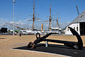 Anchor and HMS Gannet at Chatham Dockyard.jpg