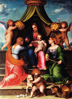 <i>Mystic Marriage of Saint Catherine</i> (Andrea del Sarto)