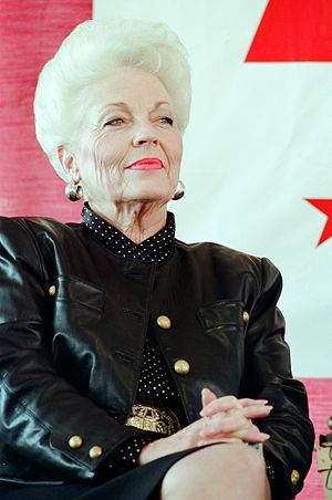 Ann Richards - Image: Ann Richards