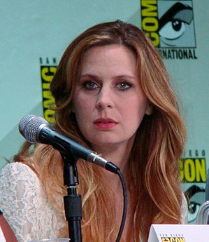 Anne Dudek - Dudek at the 2011 San Diego Comic-Con International
