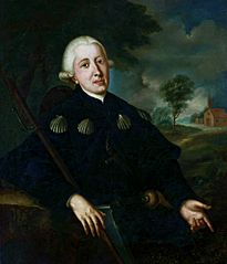 Portrait of Mr. Brown as a pilgrim to Santiago de Compostela.
