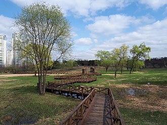 Ansan - Ansan Lake Park in April 2018
