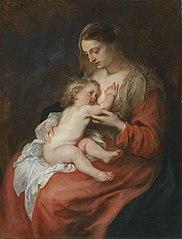 Maria mit Kind (Kopie nach)