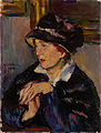 Anton Faistauer - Woman with a Dark Hat - Google Art Project.jpg