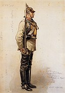 Anton von Werner - Garde-du-Corps-Kürassier
