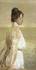 Portrait of Marie Under