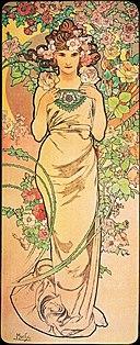 Aphonse Mucha - Rose 1898