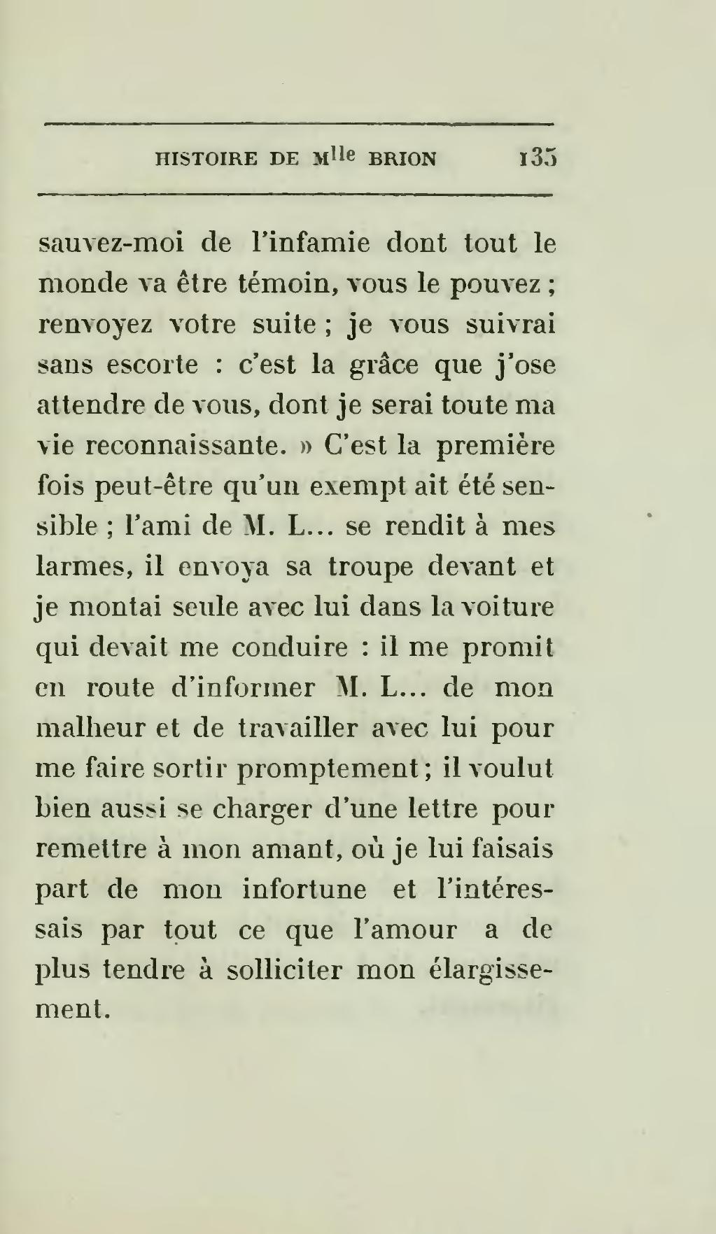 Pageapollinaire Histoire De Mlle Brion Dite Comtesse De