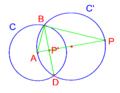 Apollonio un punto una retta una circonferenza 1.PNG