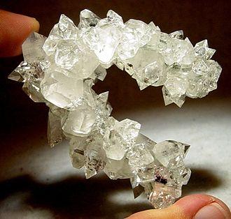 Jalgaon district - An apophyllite mineral specimen from Jalgaon district.