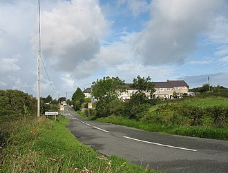 Llanddona - Image: Approaching Llanddona from the east geograph.org.uk 948655