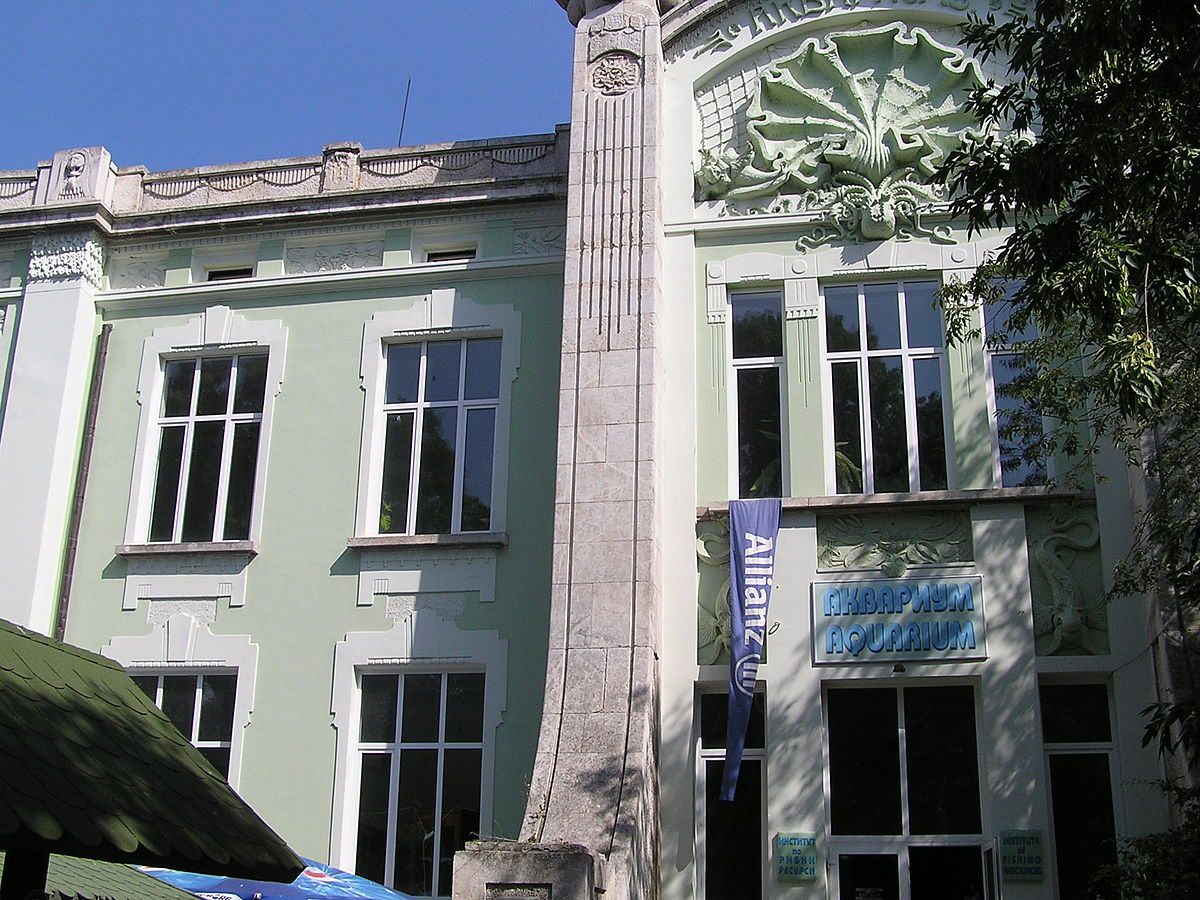 Px Aquarium Varna C Bulgaria on Foundation Blueprints