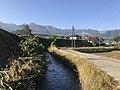 Aqueduct in Kuwabaru, Hisaishi, Minami-Aso, Aso, Kumamoto 2.jpg