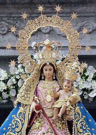 Our Lady of Arantzazu - Image: Aranzazu El San Mateo