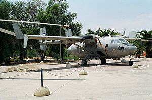 IAI Arava - IAI Arava at the Israeli Air Force Museum