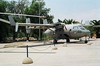 IAI Arava - IAI Arava at the Israeli Air Force Museum