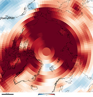The effects of global warming in the Arctic