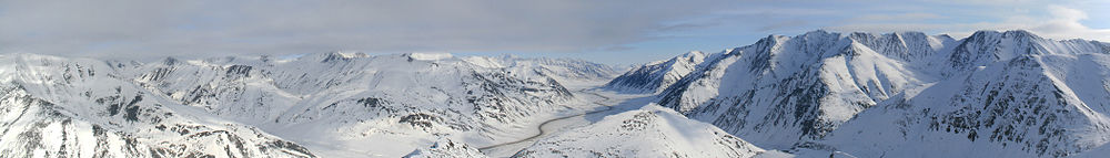 Arctic Alaska near Atigun Pass