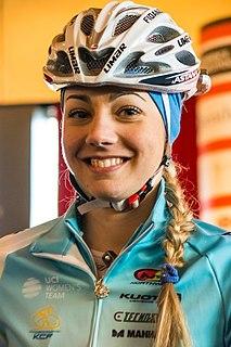 Arianna Fidanza Italian cyclist