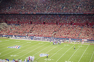 Arizona Stadium - Image: Arizona Stadium East Side