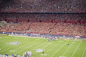 Arizona Stadium - Image: Arizona Stadium East Side