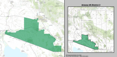 Arizona's 3rd congressional district - since January 3, 2013.