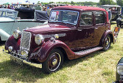 right1939 Armstrong Siddeley 16HP