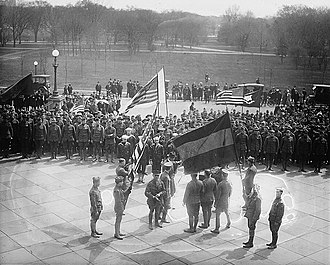 First Republic of Armenia - A delegation of five hundred Armenian World War I veterans in Washington, D.C., April 1920