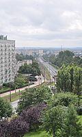 Armii Krajowej street in Częstochowa.jpg