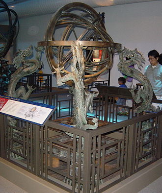 Ancient technology - Chinese armillary sphere