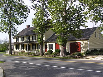 National Register of Historic Places listings in Burlington County, New Jersey - Image: Arneytown Historic District