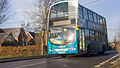 Arriva 4749 passing through Carlton, Leicestershire (8259449686).jpg