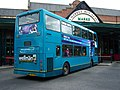 Arriva bus 7439 VDL Bus DB250 East Lancs Myllennium Lowlander Y689 EBR in Newcastle 9 May 2009 pic 2.jpg